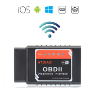 ATDIAG ATI2 ELM327 WIFI OBDII Diagnostic Wireless Scanner for Apple iPhone Touch